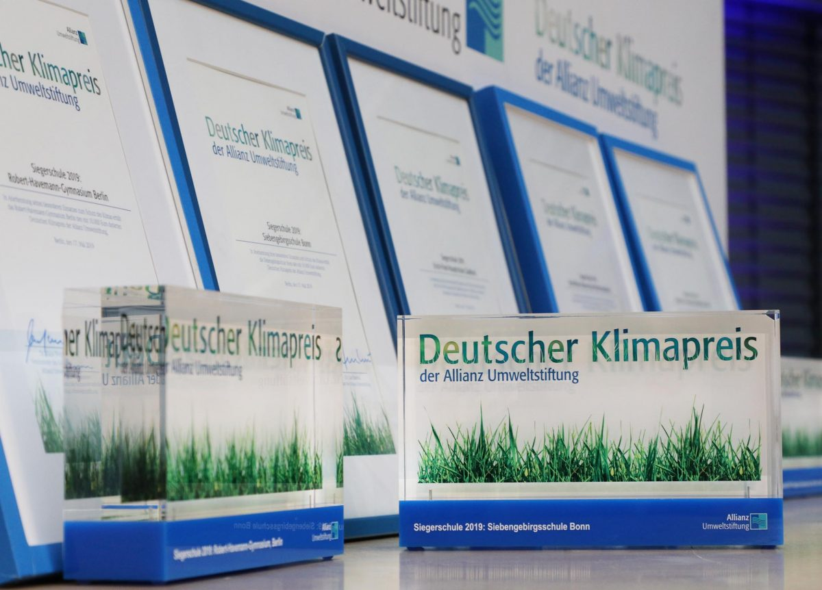 Preisgewinner gestalten nachhaltig die Zukunft mit